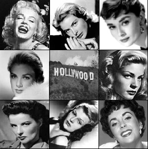 Classic Hollywood icons.